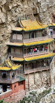 #Hanging_Monastary of #Hengshan in #China http://en.directrooms.com/hotels/country/1-12/