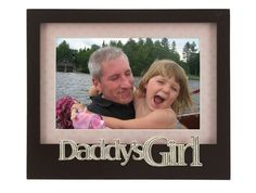 Transform the look of your home or office with Daddy's Girl Photo Frame. With its simple yet modern design, it can be combined with other frames for a unique look. For three generations Malden International Designs has been a Family Picture Frames, Family Pictures, Girl Pictures, Girl Photos, Daddys Girl, S Girls, Fathers Day, Invitations, Pink