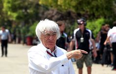 Round 3, UBS Chinese Grand Prix 2013, Race, Bernie Ecclestone, CEO of Formula One Management