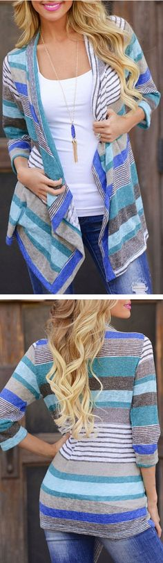 I like this cardigan for pulling together what would otherwise be jeans and a tshirt.