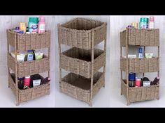 Hello everyone, In this video, we have made a organizer using jute. You can also try this craft idea to decorate your. Diy Crafts Hacks, Diy Home Crafts, Diy Arts And Crafts, Diy Projects, Diy Handmade Books, Handmade Home, Handmade Crafts, Birthday Gifts For Boyfriend Diy, Fabric Covered Boxes