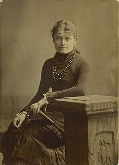 Bertha Wegmann (Photo credit: Wikipedia)