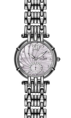 The PISA by Charmex of Switzerland™; luxury Swiss Made wrist watches on the official Charmex of Switzerland™ website Stainless Steel Case, Pisa, Switzerland, Rolex Watches, Sapphire, Stones, Black Leather, Quartz, Butterfly