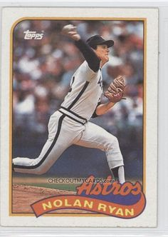 1989 Topps NOLAN RYAN Collectible Baseball Card 530. $1.25, via Etsy.