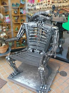 Found possibly the coolest chair in Takayama, Japan