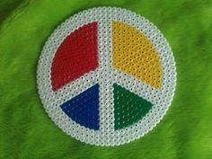Peace hama perler design by   Felskapad