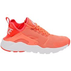 huge selection of 6255e 6977a Pre-owned Nike Huarache Cloth Trainers ( 96) ❤ liked on Polyvore featuring  shoes. Neon SneakersOrange ...