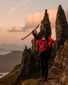 Danielle Siobhan tells us how to travel to the world-famous Old Man Of Storr on Scotland's Isle Of Skye. Be ready for the adventure to start: know how to get there and what to pack.