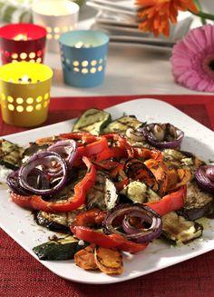 Rezept für Gegrillte Antipasti bei Essen und Trinken. Ein Rezept für 4 Personen. Und weitere Rezepte in den Kategorien Gemüse, Kräuter, Vorspeise, Party, Grillen, Italienisch.