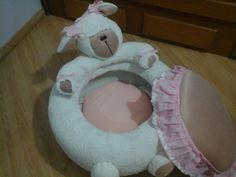 Puff infantil - bichinho de pelúcia                                                                                                                                                                                 Mais