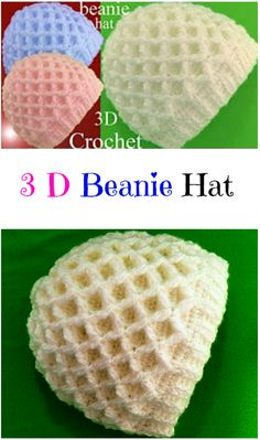 3D Beanie Hat – Crochet Ideas