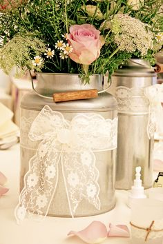 county fair theme wedding | centerpieces