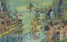 The Little Mermaid - Concept Art - Disney