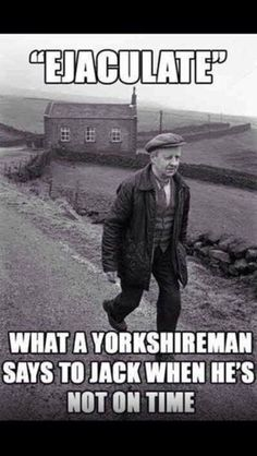 Yorkshire!