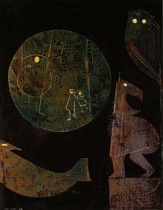 Max Ernst - Some Animals are Illiterate, c.1973