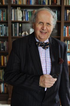 Alexander McCall Smith, a Edinburgh Law School teacher pens novels like The Popcorn Pirates when not playing bassoon in The Really Terrible Orchestra.
