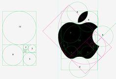 1, 2, 3, 5, 8, 13… Eu não sabia disso, mas a partir de agora nunca mais vou conseguir ver essa maçã de outra forma. Aliás, a mesma proporção também aparece no ícone doiCloud. Sequênci…