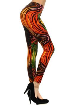 Melted Wax Printed Legging. Buy it Now $11.99 – uhsupply