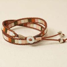 Free Tila Bead Wrap Bracelet Project Tutorial | Mosaic Wrap | Beadshop – Beadshop.com