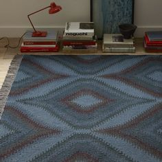 Katana Overdyed Wool Kilim | west elm