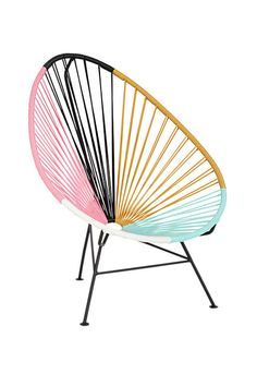 15 New Pieces For Instant Decor Cred #refinery29  http://www.refinery29.com/home-accents#slide4  The Update: The Acapulco chair is the design equivalent of a flowy top, flared jeans, and wedges. Let's thank the Gypset fashion moment for its resurgence.