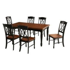 Exceptional Monarch 7 Pc. Dining Table And Chair Set, White
