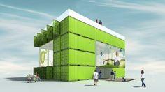 Aspern Urban Development Info Center by VMA (Shipping Container Architecture) (3)