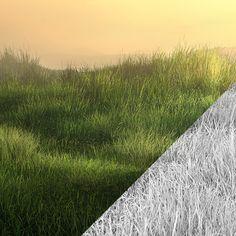 Grass test, Krzysztof Teper on ArtStation at…