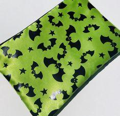 Shiny bats zipper pouch. Limited edition!