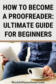 Want to learn how to make money proofreading? Here's a beginner's guide on how to become a freelance proofreader. Legit Work From Home, Legitimate Work From Home, Work From Home Jobs, How To Make Money, How To Become, Work From Home Companies, Proofreader, Learning, Work From Home Business