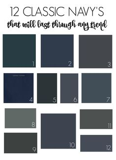 12 Clic Navy S That Will Outlast Any Trend1 Sherwin Williams Dark Night 2
