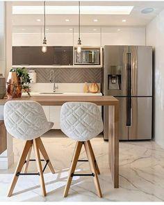 Kitchen Room Design, Modern Kitchen Design, Home Decor Kitchen, Interior Design Kitchen, Kitchen Furniture, Home Kitchens, Interior Livingroom, Interior Ideas, Natural Home Decor