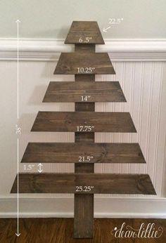 Wooden Tree Advent Calendar Tutorial | Dear Lillie | Bloglovin'