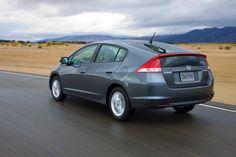 Gray Honda Insight