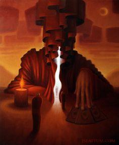 The Oracle by jslattum.deviantart.com on @deviantART
