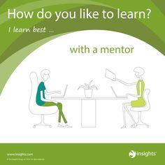 How do you like to learn? Earth Green colour energy.