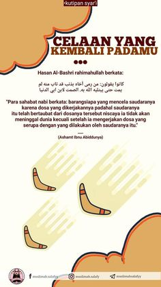 Hati2 Mencela Sesama... Hijrah Islam, Islam Religion, Doa Islam, Daily Quotes, Book Quotes, Life Quotes, Mindset Quotes, Reminder Quotes, Self Reminder