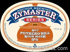 mybeerbuzz.com - Bringing Good Beers & Good People Together...: Anchor Brewing Releases First Sour Mash IPA: Zymas...