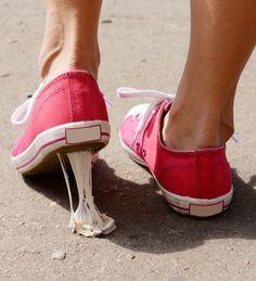 Retirer du chewing gum avec du coca.