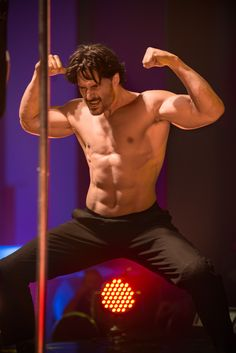 """magicmikexxl: """"He doesn't bite…unless you want him to. """" Of course he bites! He's a werewolf!"""