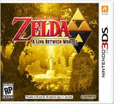 Ésta será la portada para The Legend of Zelda: A Link Between Worlds :O