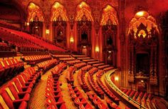 The Ohio Theatre – the greatest restored movie palace in the USA.