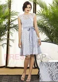 Bateau Natural A-line/Princess Vintage Bridesmaid Dresses