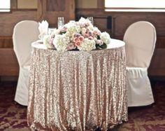 """Round Square Sparkle Glitter Sequin Tablecloth 72"""" 90"""" 108"""" 120"""" 132"""""""