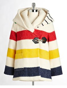 Hudson Bay Company Classic Wool Blanket Coat....i haven't wanted something so badly before