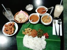 Banana Leaf Curry . Passion of Kerala. Penang, Malaysia. http://farangfreedom.wordpress.com/2013/05/09/whats-so-great-about-penang-anyway/