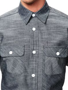 Woolrich Woolen Mills Newspaper Pocket Shirt