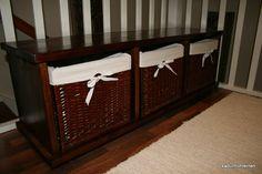 laatikoston tuunaus Bench, Storage, Furniture, Home Decor, Purse Storage, Decoration Home, Room Decor, Larger, Home Furnishings
