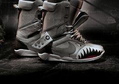 Nike-Fighter-Jet-Inspired-Snowboarding-Boots  Alleen hier om zou ik al gaan willen snowboarden! Super vet!