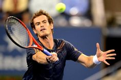 Andy Murray (GBR)[3] in second round action against Ivan Dodig (CRO) at Arthur Ashe Stadium at the US Open - Rob Loud/USTA